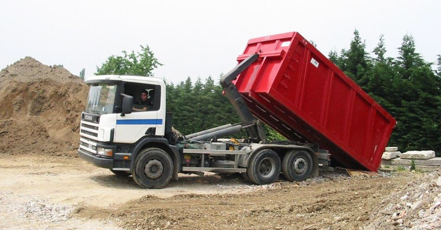 viesse camion per materiali da scavo